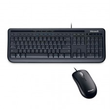 Kit Teclado y Mouse Microsoft Wired 600