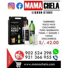 TABERNERO Pisco Pack Chilcanero